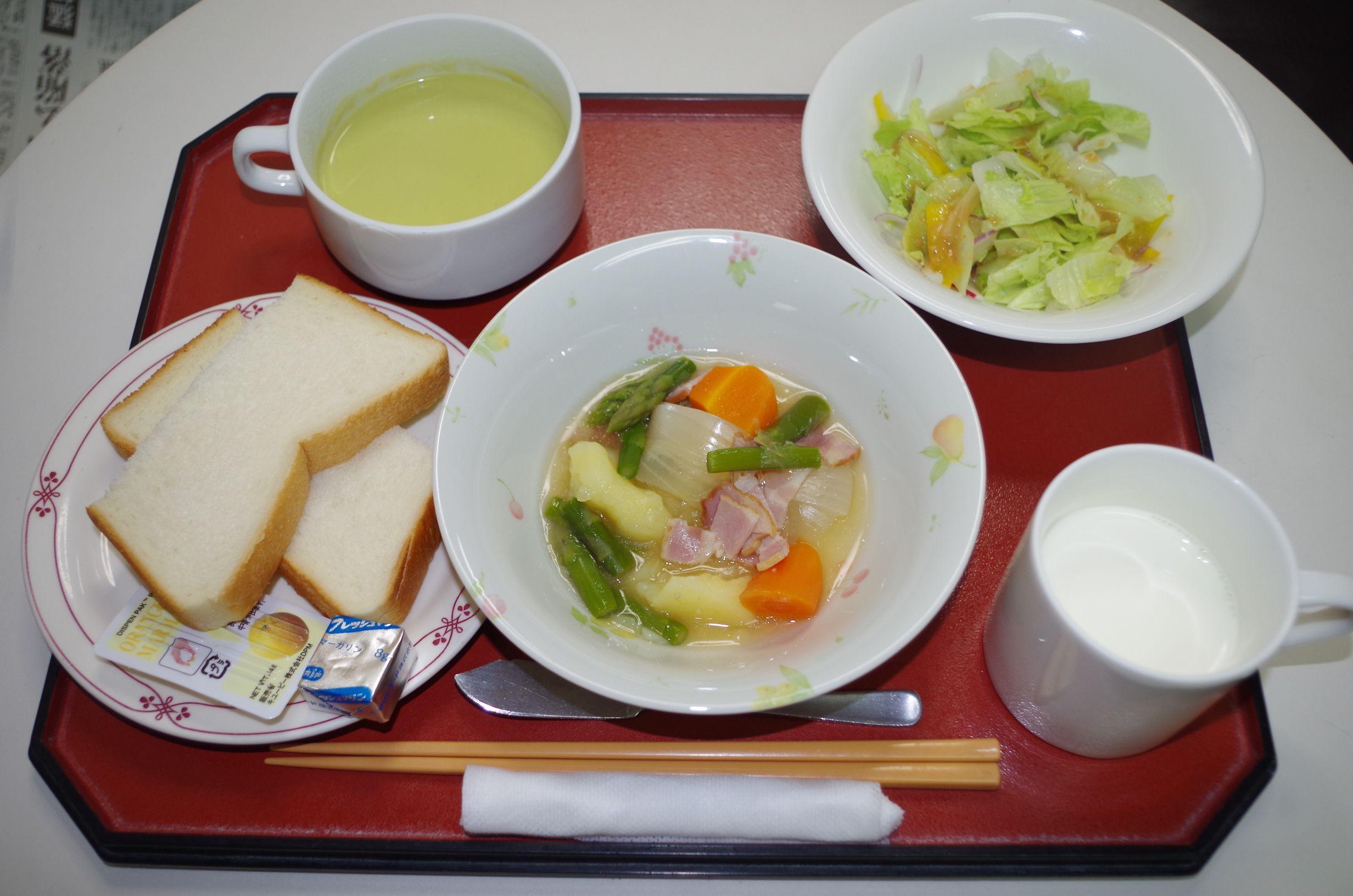 シルバーシティ武蔵境の洋食一例