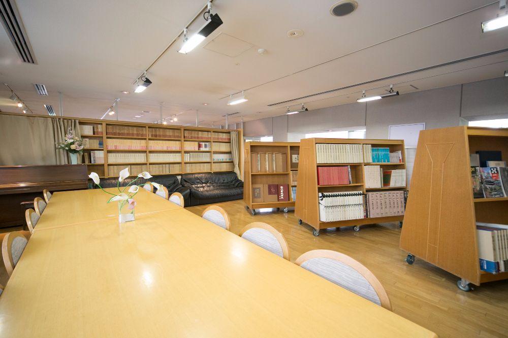 シルバーシティ石神井南館の図書室