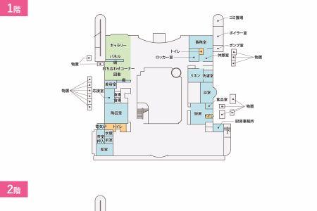 シルバーシティ石神井南館平面図