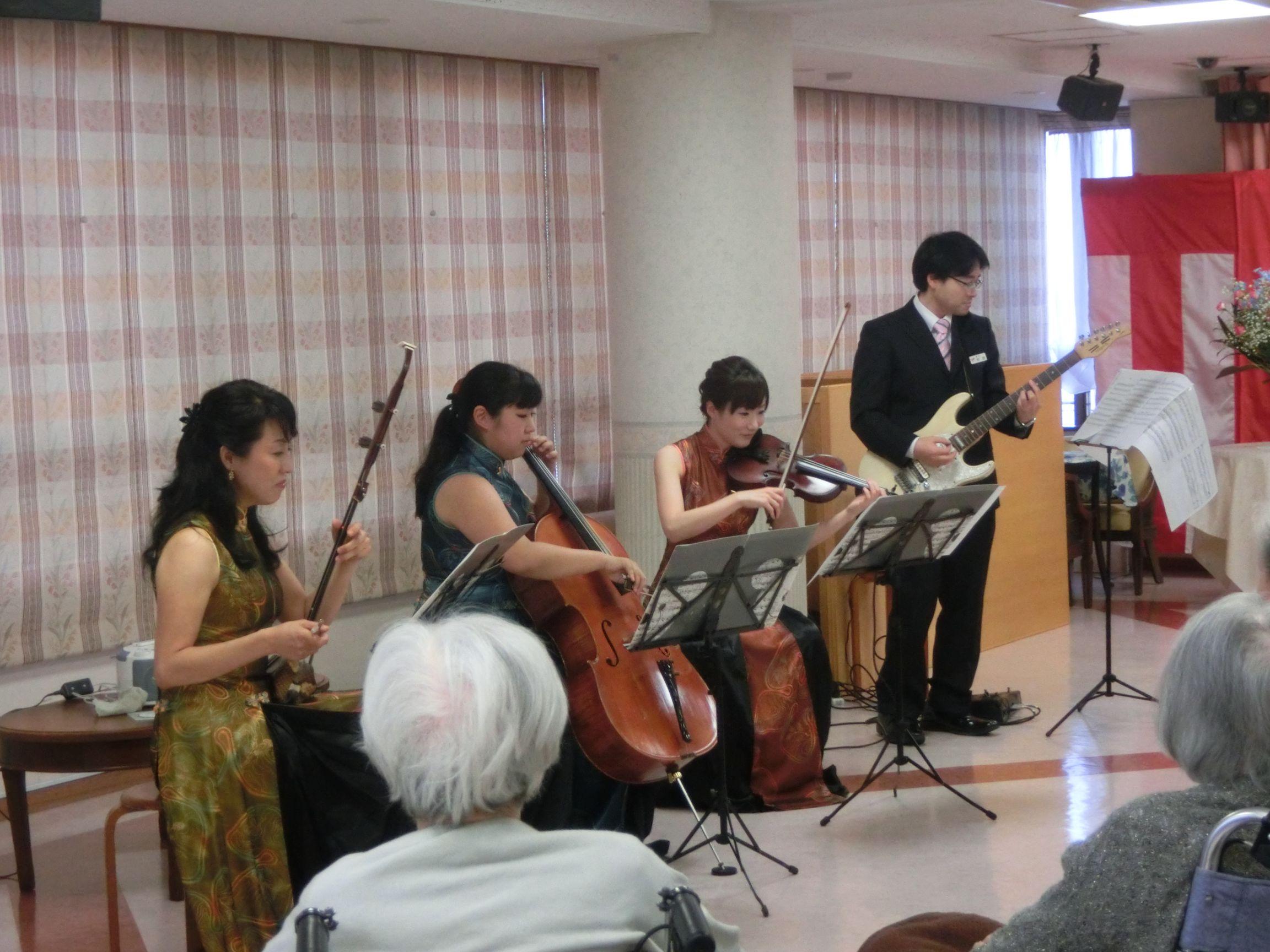 二胡コンサート。音楽イベントも各種ご用意しています