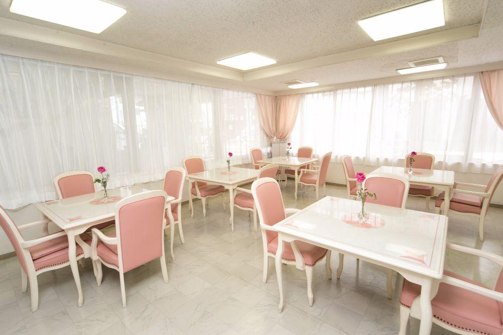 シルバーシティ駒込のラウンジ兼食堂