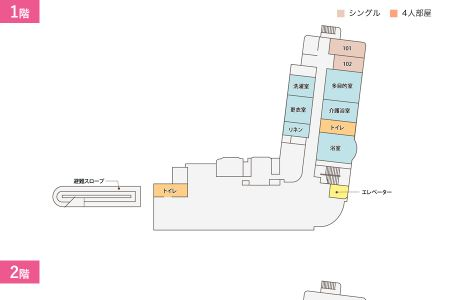 シルバーシティ武蔵野平面図
