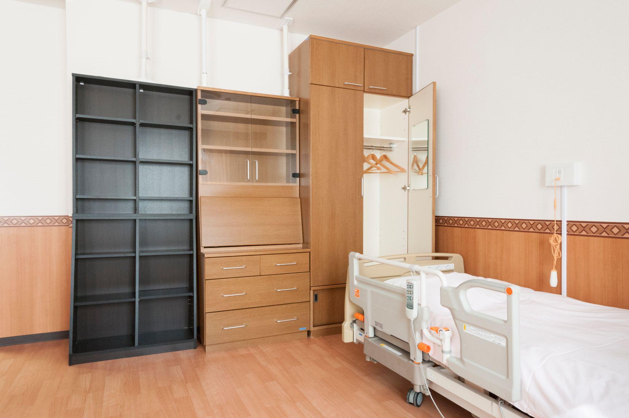 ツインルーム N棟 203号室 24.41㎡ イメージ2