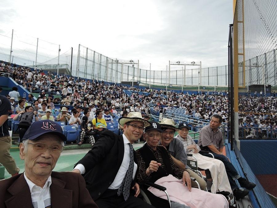シルバーシティ石神井北館の野球観戦