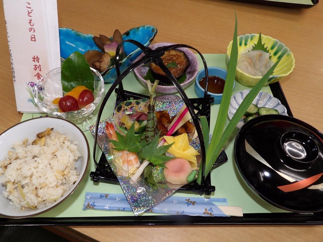 シルバーシティむさしの欅館の特別食