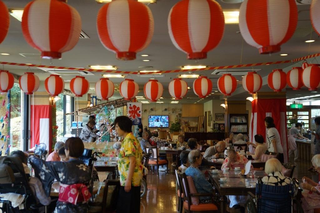 シルバーシティ武蔵野の納涼祭