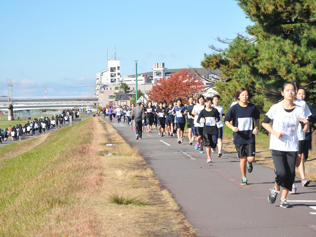11月 マラソン大会