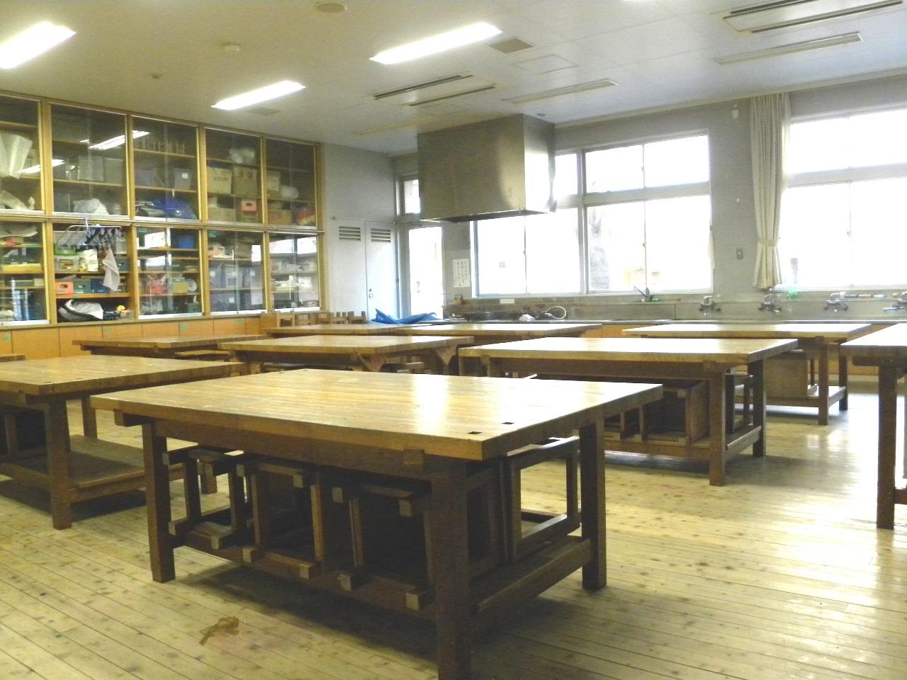 様々な学習に対応する教室