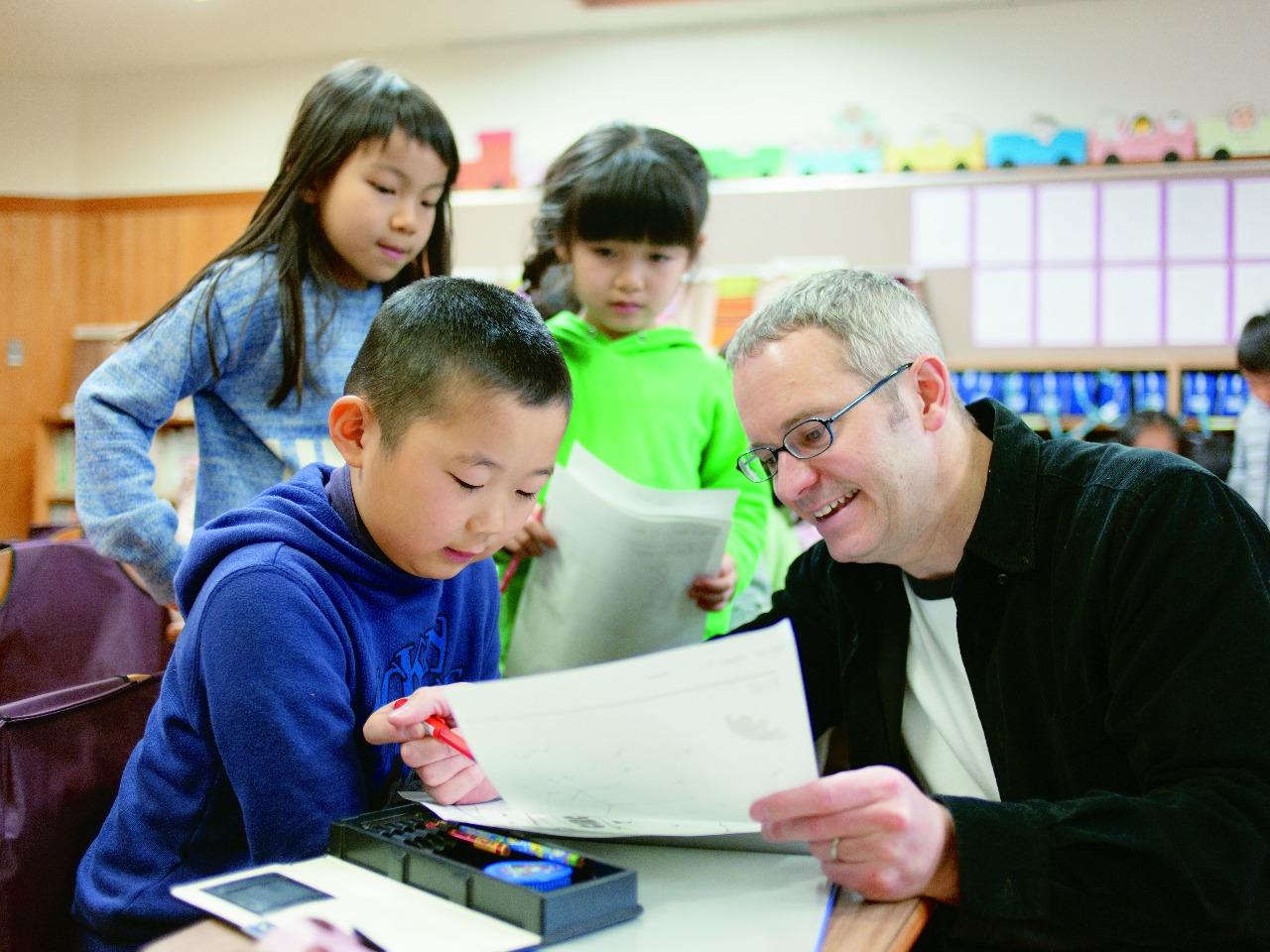 明星学園はグローバル社会で活躍できる資質を育てます