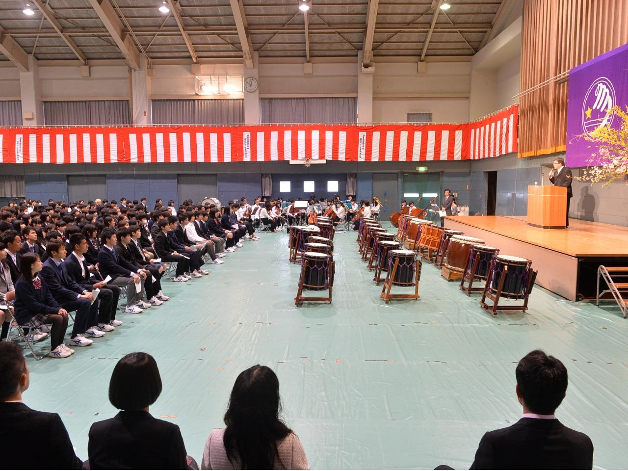 4月 入学式および自治会によるクラブ・委員会紹介