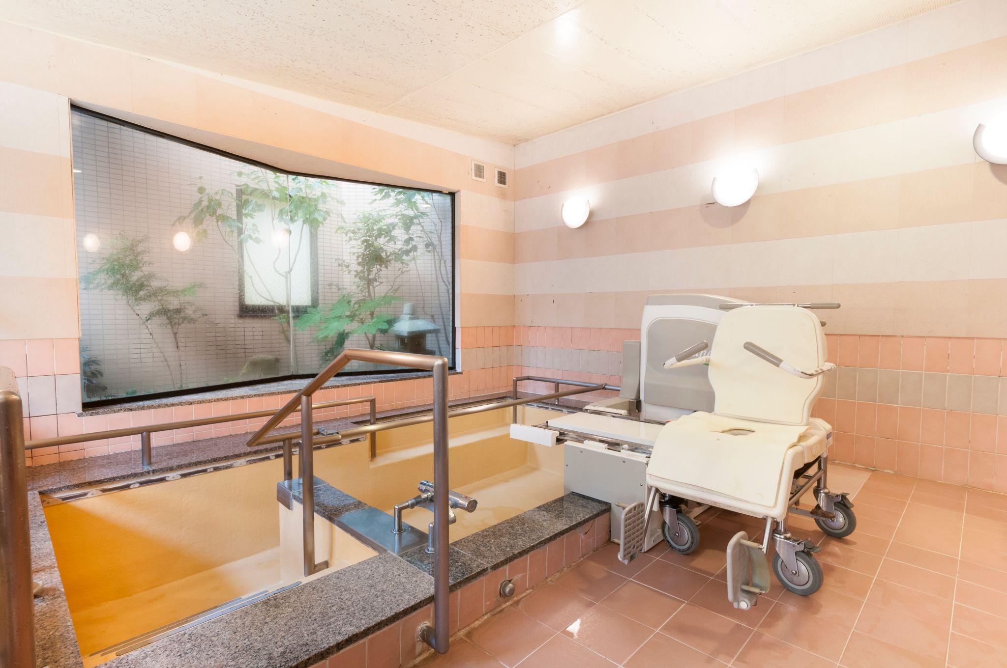 シルバーシティ石神井北館の入浴施設