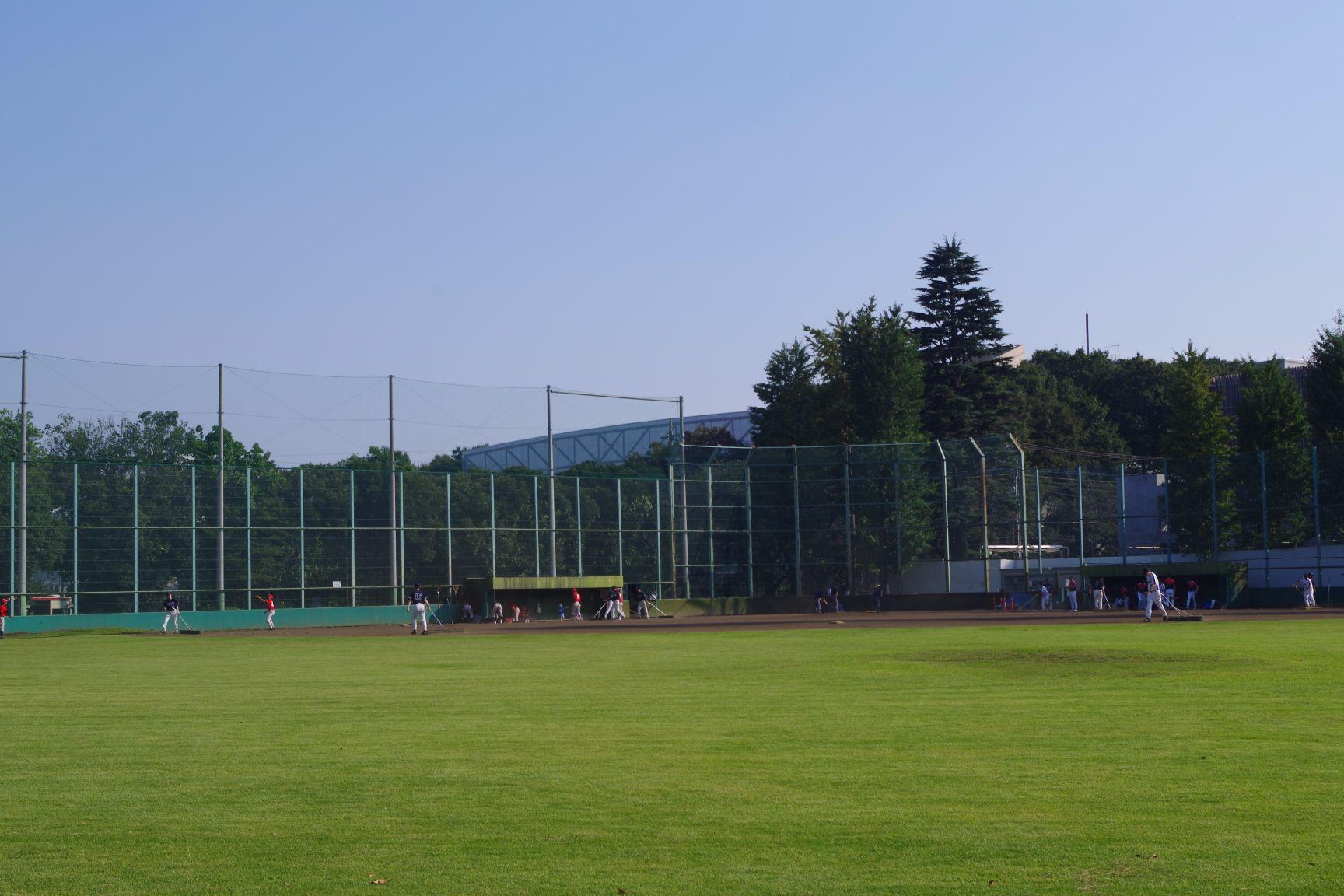 周辺施設:野球場