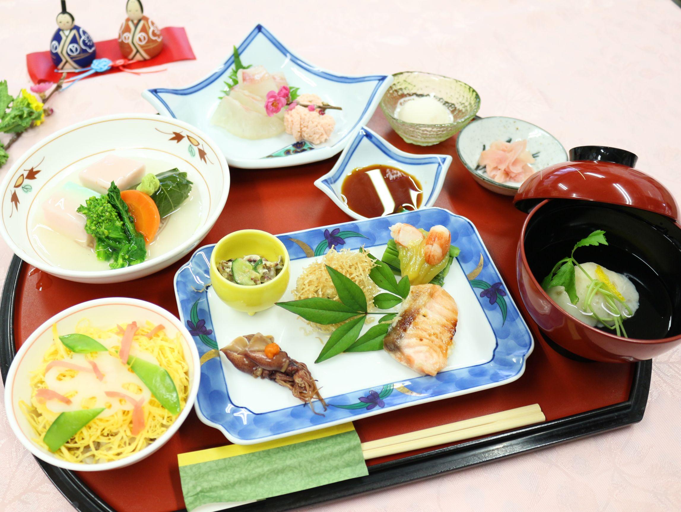 シルバーシティ武蔵野の特別食