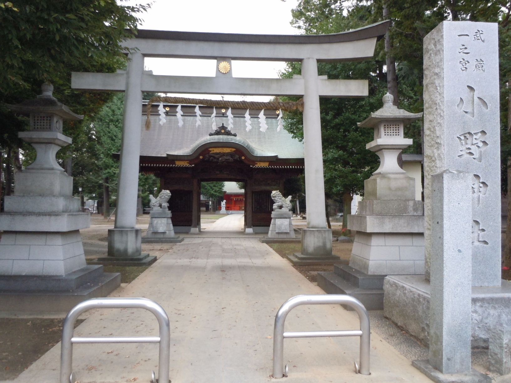周辺施設 小野神社