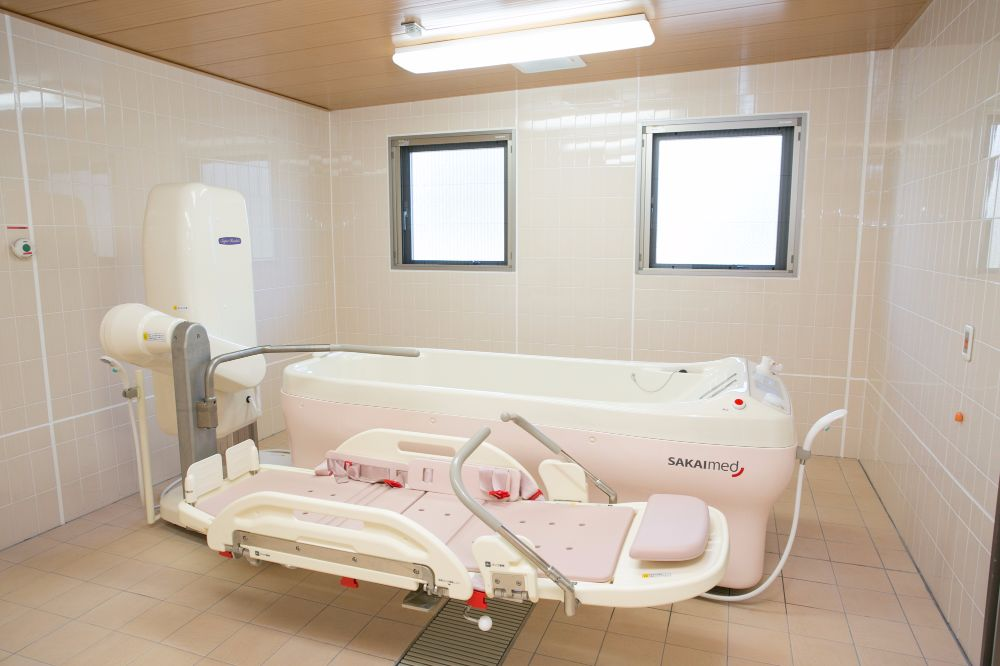 シルバーシティむさしの欅館の機械浴