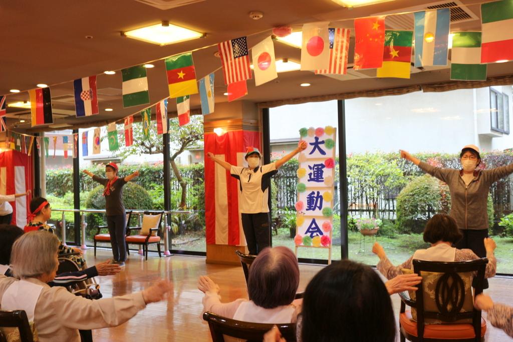 シルバーシティ武蔵野 運動会