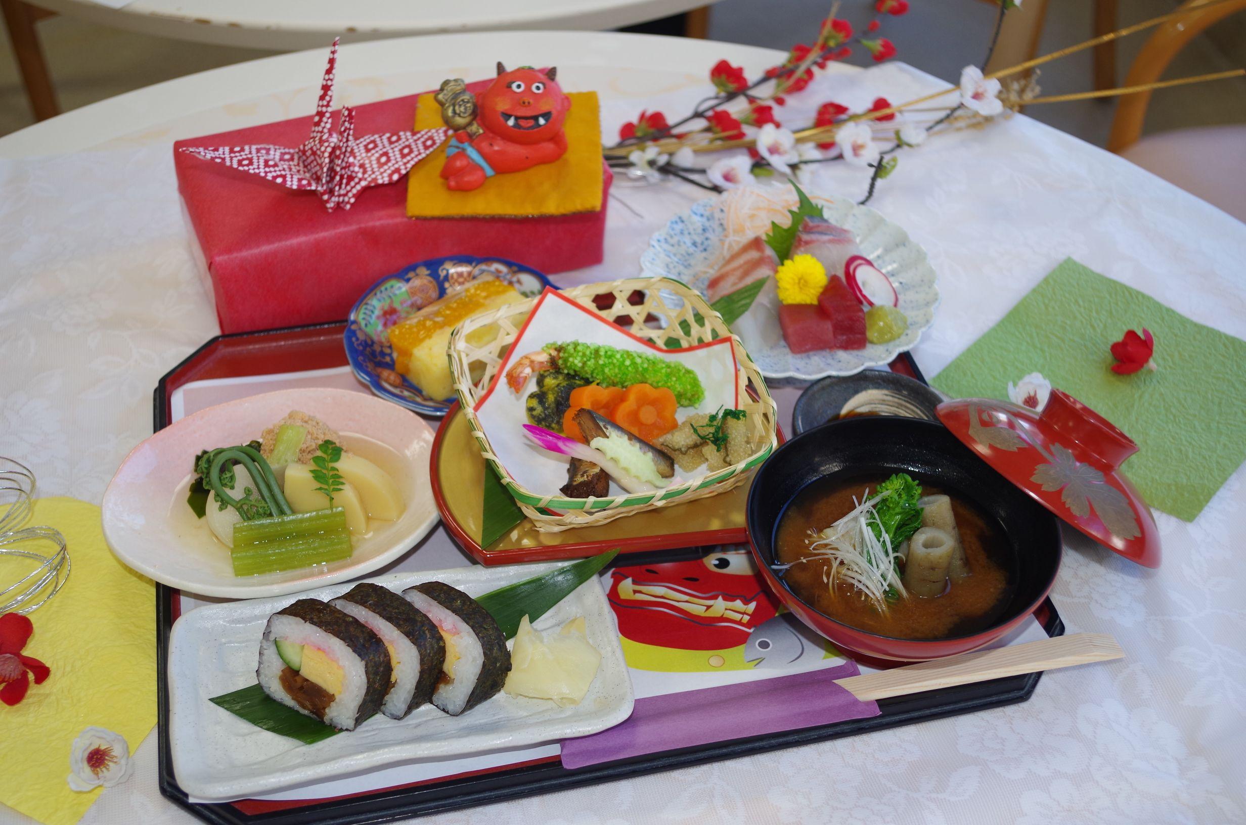 シルバーシティ武蔵境の特別食一例