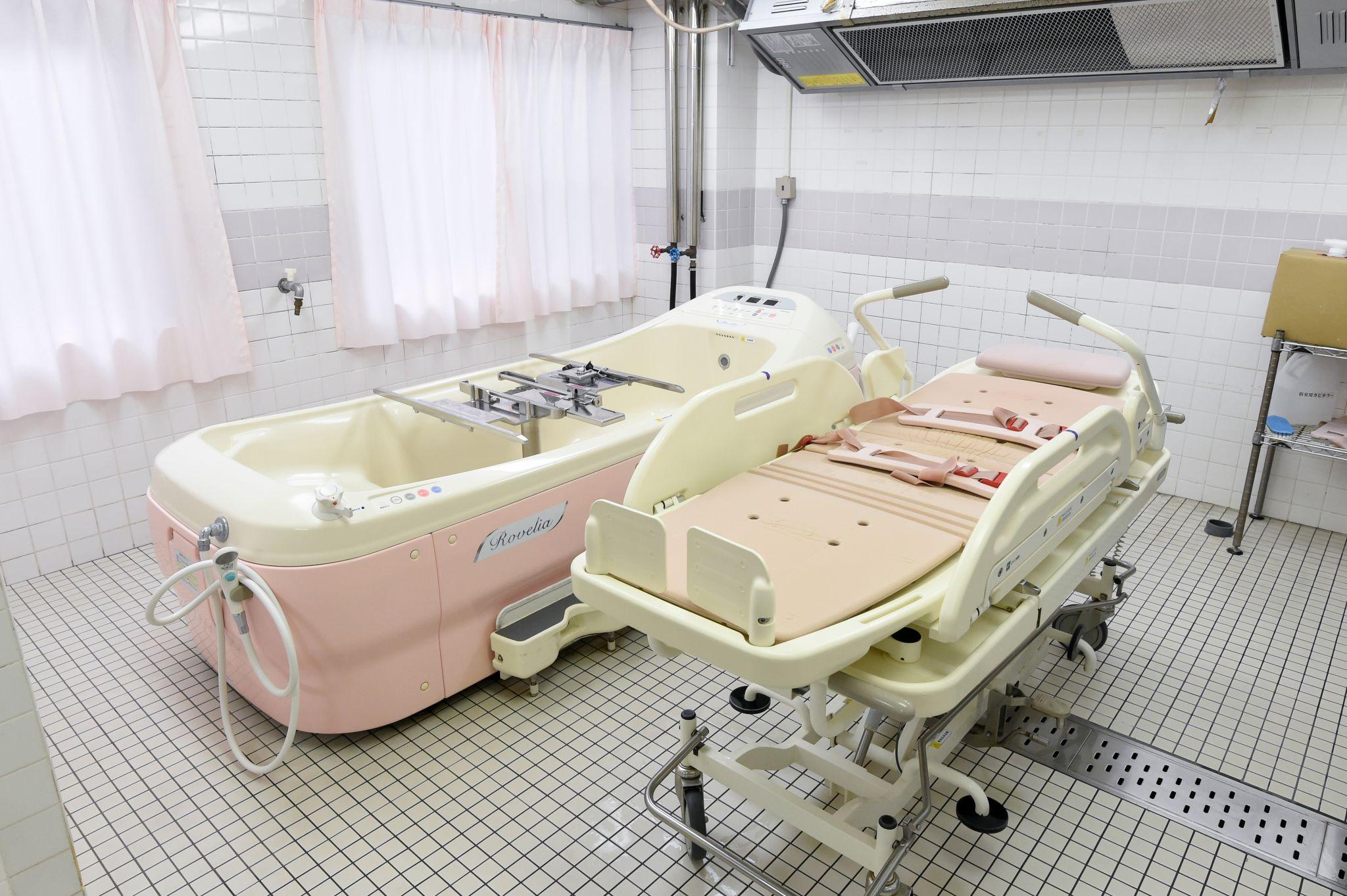 シルバーシティ駒込の機械浴