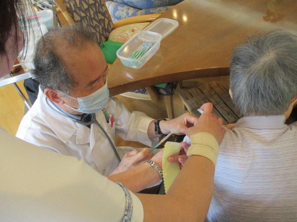 新型コロナウイルスワクチン接種 シルバーシティ石神井南館