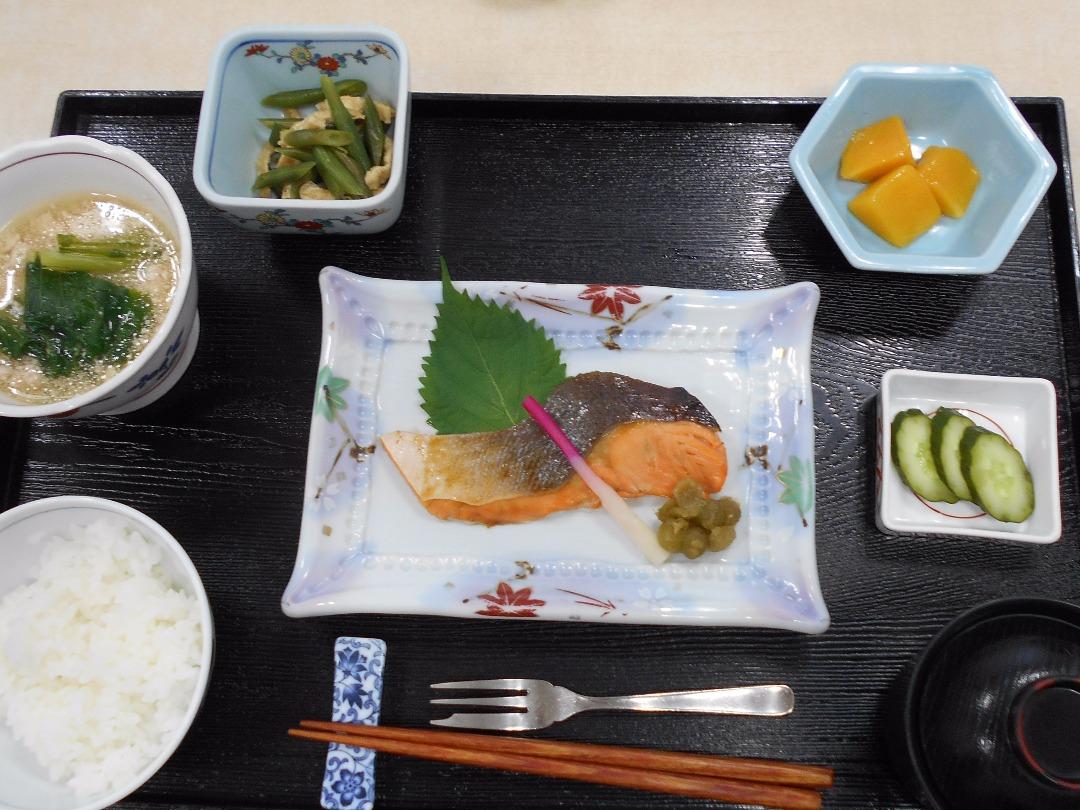 シルバーシティ石神井南館の昼食一例