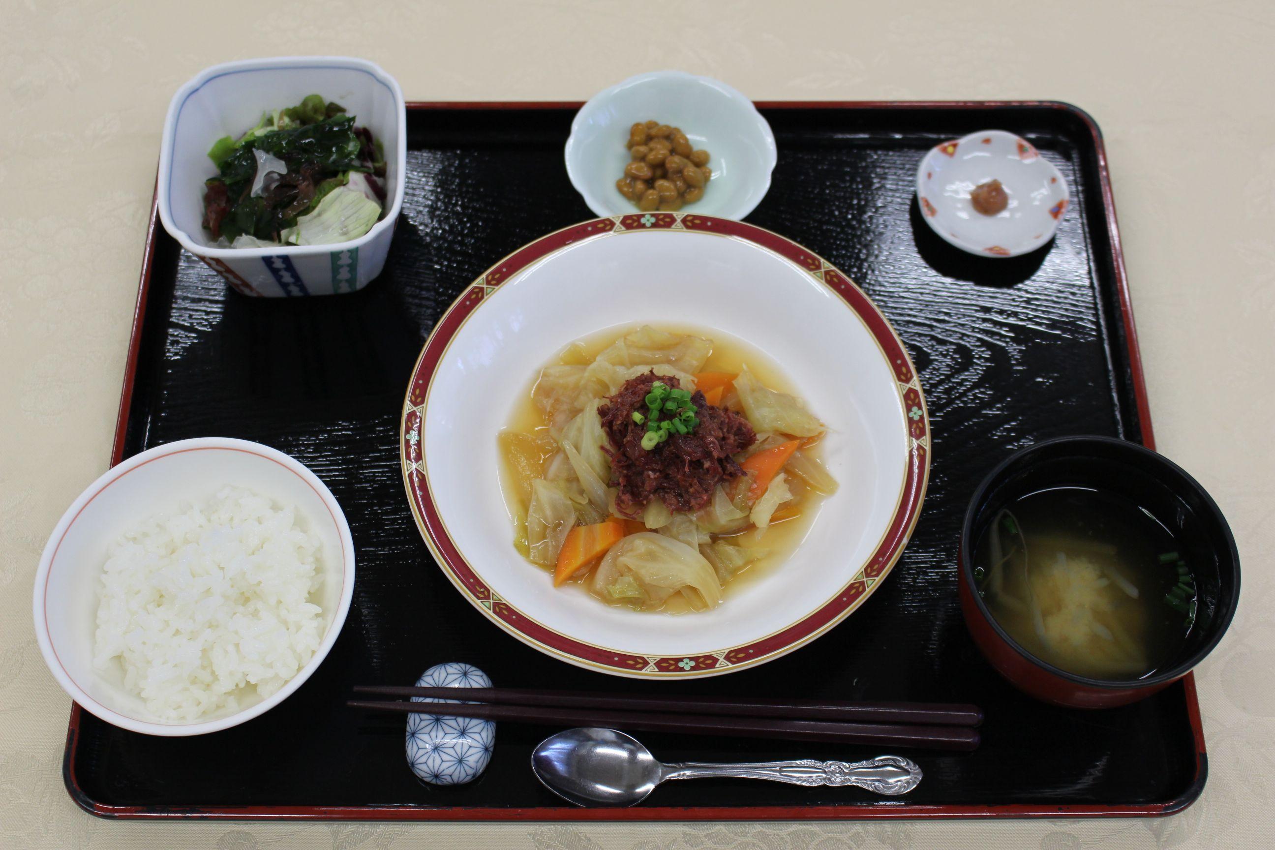 シルバーシティ武蔵野の和食一例