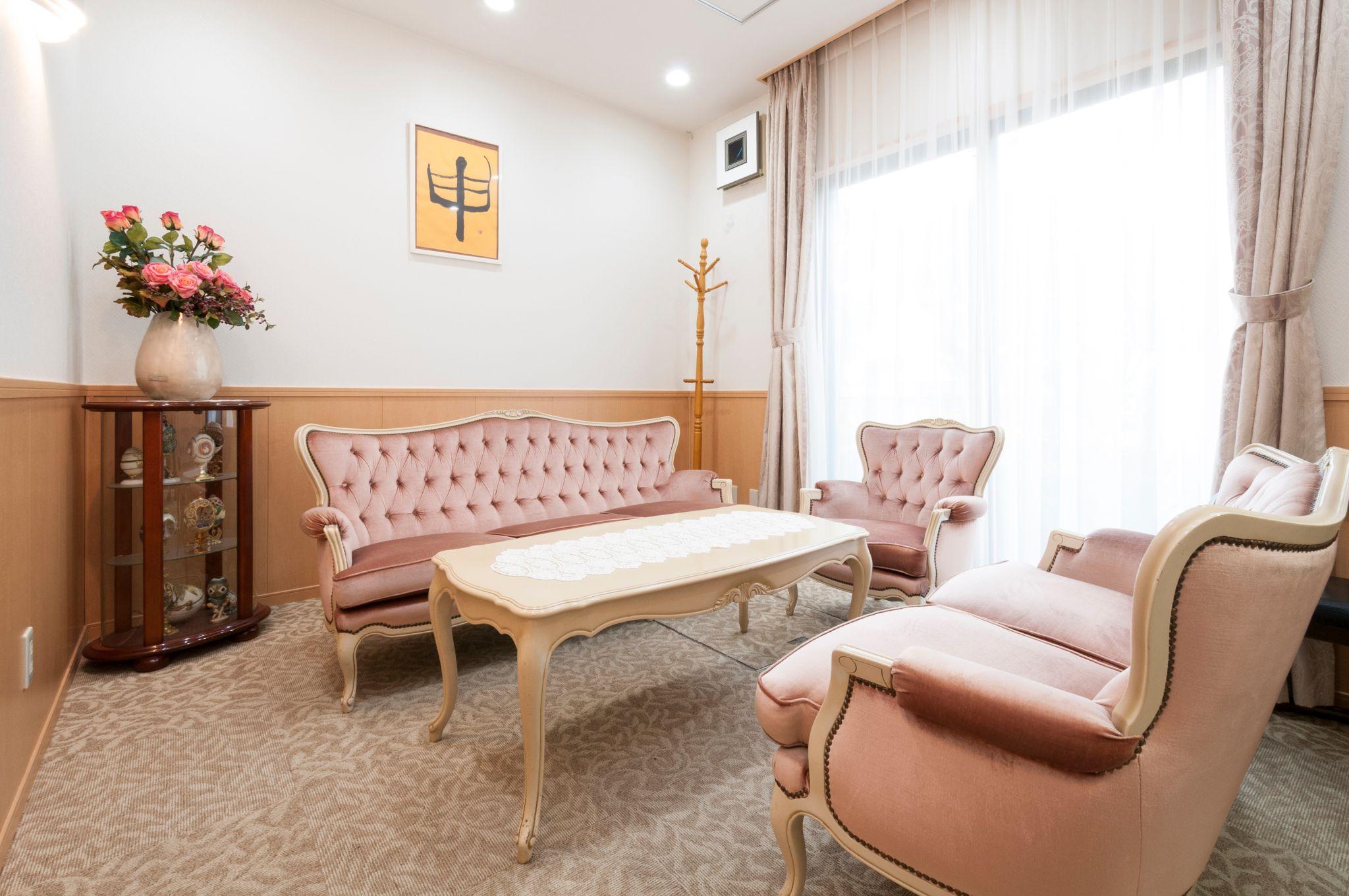 シルバーシティ石神井北館の応接室