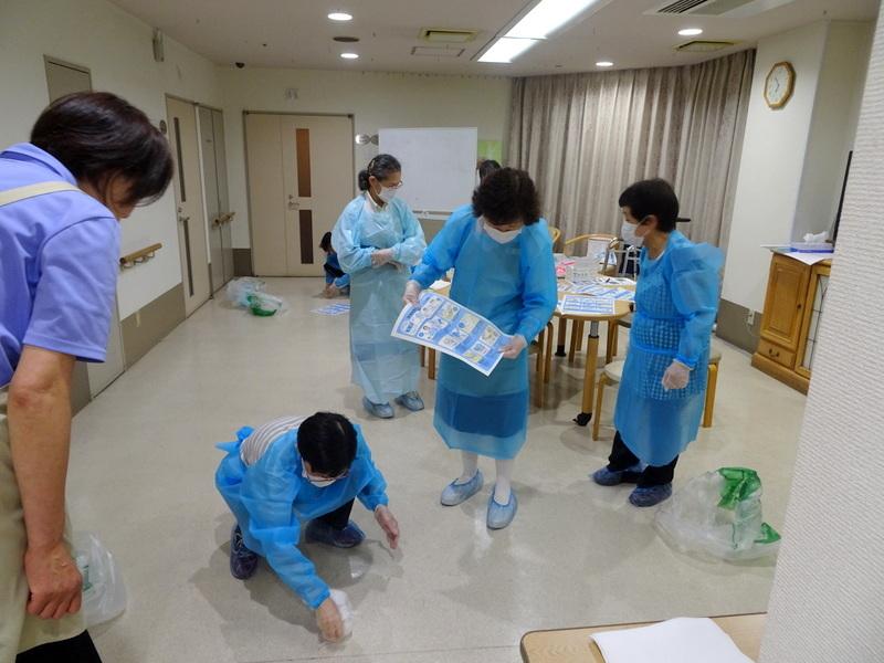 シルバーシティ 感染症対策研修