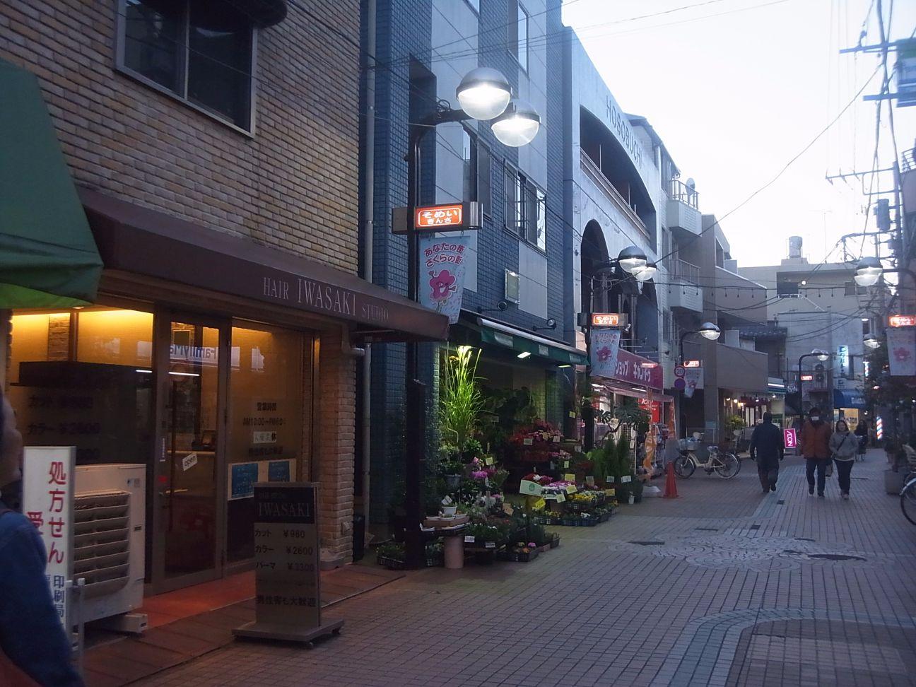 周辺施設:染井銀座商店街