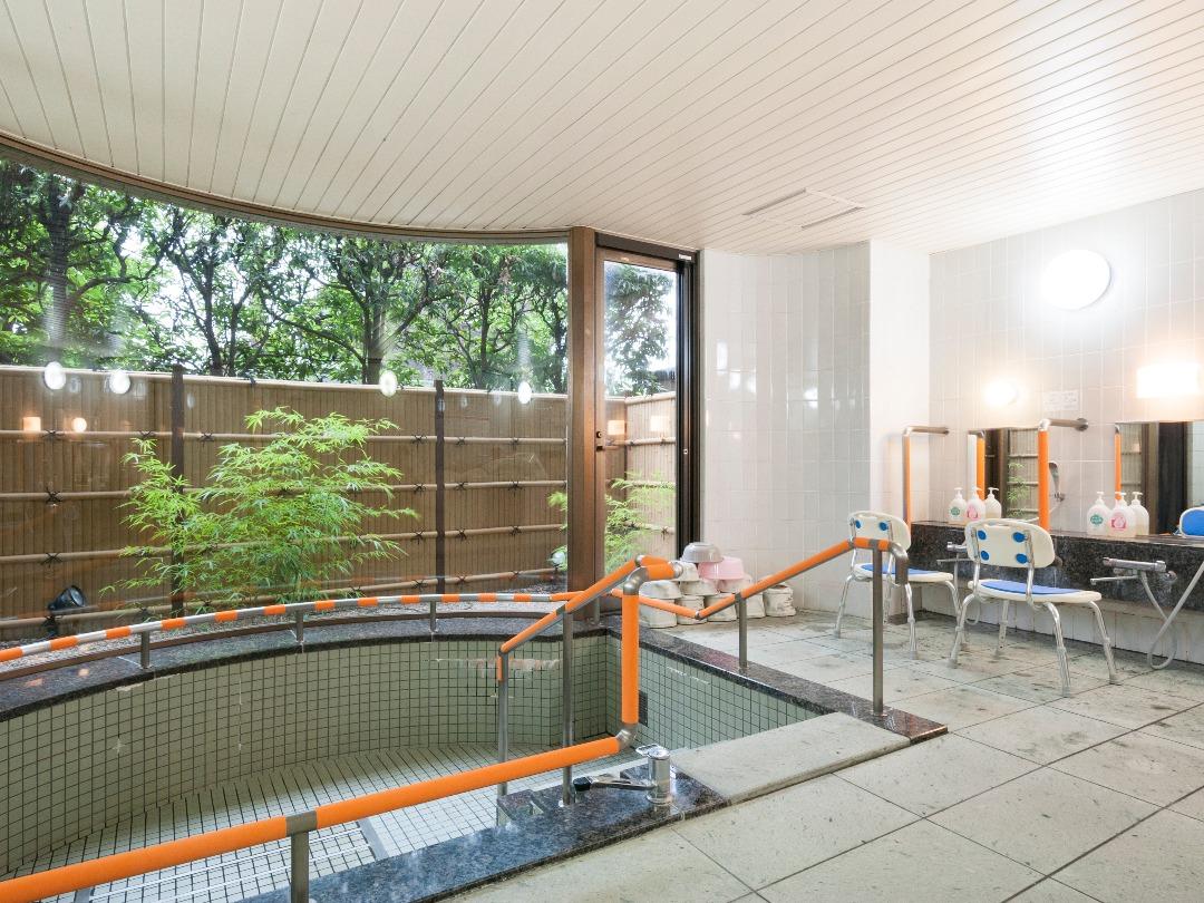 シルバーシティ石神井南館の浴室