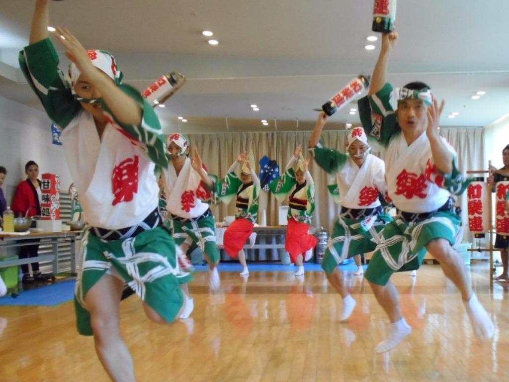 シルバーシティ石神井南館の納涼祭