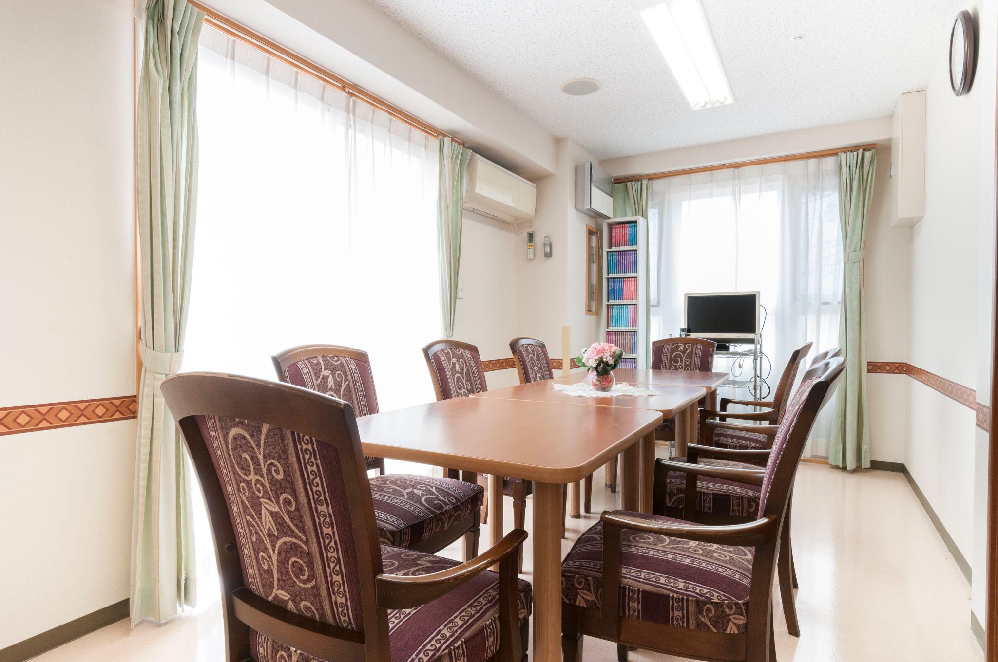 シルバーシティ聖蹟桜ヶ丘の多目的室