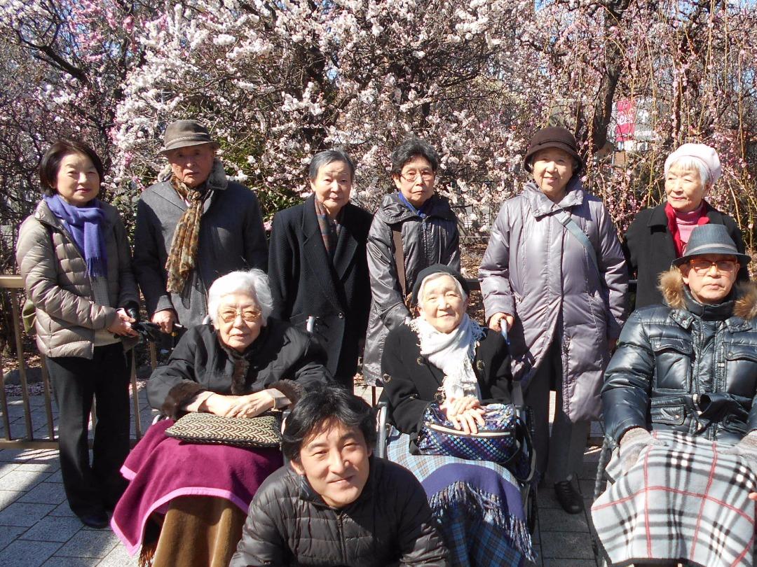 シルバーシティ石神井南館の外出イベント